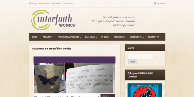 InterfaithWorks-homepage