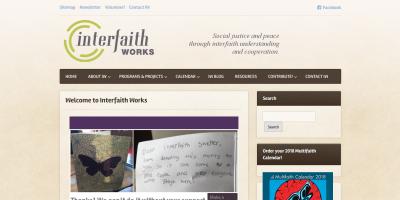InterfaithWorks-homepage
